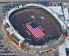 Best stadium in the NFL - Lambeau Field - Go Pack Go!