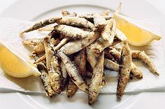 Fried whitebait | Simon Hopkinson
