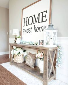 If you are looking for Farmhouse Decor Ideas, You come to the right place. Below are the Farmhouse Decor Ideas. This post about Farmhouse Decor Ideas was posted un. Home Living Room, Living Room Decor, Bedroom Decor, Dining Room, Bedroom Ideas, Flur Design, Hallway Designs, Entryway Decor, Entryway Ideas