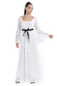 de55ec810073 Φόρεμα με δαντέλα -Έχει εσωτερική λευκή φόδρα -Με λεπτό λάστιχο στο μπούστο  -Μαύρη