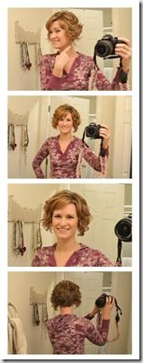 Curly Hair Styling Tips, via Made it on Monday