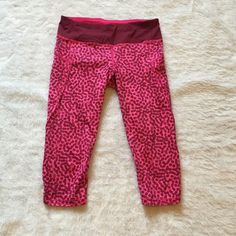 Lululemon run top speed crop pants pink cheetah  Authentic Lululemon run top speed crop pants  Size 6  Worn once  Pink cheetah print Please ask for additional pictures, measurements, or ask questions before purchase. No trades or other apps Ships next business day, unless noted in my closet  Five star rating Bundle for discount lululemon athletica Pants