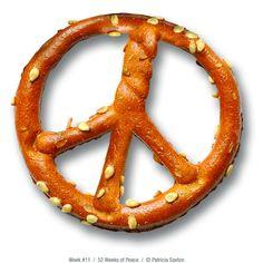 ...pretzel peace... #IDWP I Declare World Peace