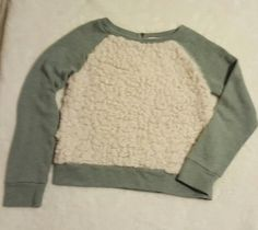 Tucker & Tate Girls L 10/12 Gray Sweater Ivory Faux Fur Front | Clothing, Shoes & Accessories, Kids' Clothing, Shoes & Accs, Girls' Clothing (Sizes 4 & Up) | eBay!