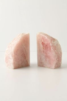 Rose Quartz bookends. Brings you love and it's functional.