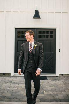 three piece suit  Photography by Ken Kienow Wedding Photography / kenkienow.com