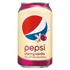Pepsi Cola Cherry Vanilla (Pack of for sale online Soda Crush, Discontinued Food, Pepsi Cola, Coke, Ice Cream Van, Buy Tea, Wine Cocktails, Vanilla Flavoring, Natural Flavors