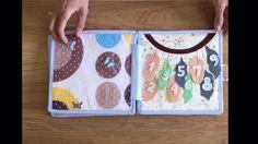 Indian Tribal Nursery Quiet book, Activity Book, Felt Book, Soft Book, Тихокнижки - YouTube