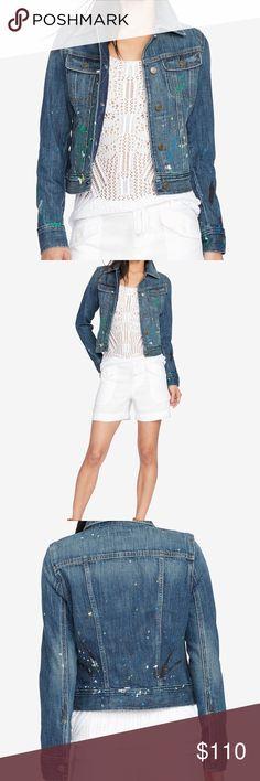 Lauren Ralph Lauren denim trucker jacket Lauren Ralph Lauren denim trucker jacket, imported,cotton, machine washable Lauren Ralph Lauren Jackets & Coats Jean Jackets