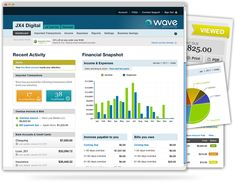 Free Online Accounting Software for Small Business - Wave Accounting Thanks to mascott for suggesting this! Wave Accounting, Free Accounting Software, Small Business Software, Small Business Accounting, Small Business Resources, Business Tips, Online Business, Online Bookkeeping, Bookkeeping And Accounting