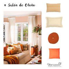 Consigue un look de otoño para tu hogar con esta nueva #inspiración de viernes😍 y redecora tu salón con nuevos cojines a medida de distintas formas y tamaños. ¡No limites tu imaginación! 💭 Utiliza varios estampados para tus cojines a medida y colores cálidos como el naranja, el amarillo, o el marrón. Entra en la web de Your Cushion, podrás diseñar tú mismo los cojines a medida perfectos para tu nueva decoración con la mayor #calidad y #comodidad garantizadas 👌  #ideasdeco #diy #cojinesamedida