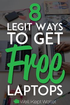 Though not just anyone can get free laptops, there are organizations to help those in need. Here are a few resources to help you get a free laptop. Ways To Save Money, How To Get Money, Money Tips, Money Saving Tips, Stuff For Free, Free Stuff By Mail, Freebies By Mail, Frugal Tips, Free Things