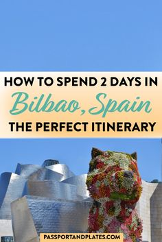Traveling to Bilbao, Spain? This guide includes everything you need to know about what to do, where to eat, how to get around, and all of the best things to do in Bilbao (on a budget). Click to read! | Bilbao | Bilbao travel guide | best things to do in Bilbao | best things to do in Bilbao in two days | Bilbao in a weekend | Basque Country | Bilbao Spain | Bilbao Spain Travel | Spain Travel | what to do in Bilbao