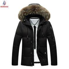 Stylish! Super Warm! Gorgeous Men Parkas Jacket!