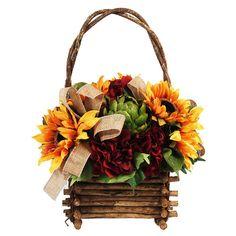Sunflower Basket.