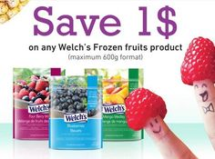 Save $1 On Welch's Frozen Fruit Products - Printable Coupon - welchs http://www.groceryalerts.ca/save-1-welchs-frozen-fruit-products-printable-coupon/