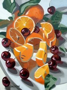 New fruit still life drawing art lessons ideas Still Life Drawing, Painting Still Life, Still Life Art, Abstract Landscape Painting, Landscape Paintings, Art Sketches, Art Drawings, Drawing Art, Pinterest Instagram