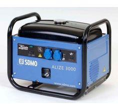 Groupe électrogène SDMO ALIZEE 3000 essence insonorisé 230V 2.8kW Groupes, App, Apps