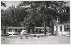 Riverview Motel, Mio MI Michigan Oscoda Co  L.L. Cook postcard