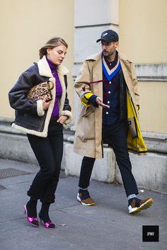 Claire Beermann and Herbert Hofmann - Milan