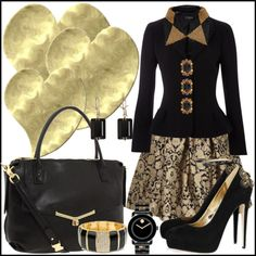 """Searching For A Heart of Gold"" by jacque-reid on Polyvore"