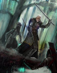 The Witcher Fan Art by Aljosa M.