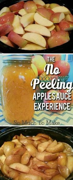Make perfectly smooth applesauce WITHOUT peeling the apples! Save time and keep nutrients!