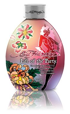 Check Out Ed Hardy Life Of The Party Tanning Lotion, This DHA free bronzer will give you immediate bronzing perfection. Indoor Tanning Lotion, Best Tanning Lotion, Tanning Tips, Tanning Products, Tanning Bed, Beauty Skin, Health And Beauty, Tan Skin, Bronzer