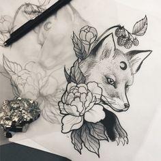 Best 37 beautiful ideas for a fox tattoo – Tattoo … – Graffiti World Tribal Tattoos, Wolf Tattoos Men, Tattoos Skull, Body Art Tattoos, Kunst Tattoos, Bild Tattoos, Tattoo Drawings, Dragon Tattoo Upper Arm, Upper Arm Tattoos