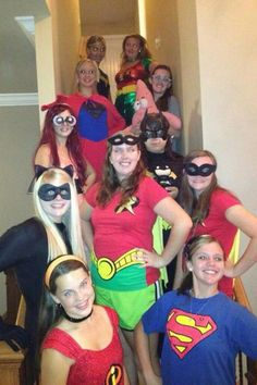 Super Hero reading party!
