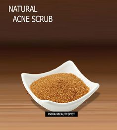 DIY Natural Acne Scrub for face and body