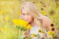 @lyssastevens - Liberty Christian Academy - Sunflowers - Class of 2015 - Senior Portraits - Texas - Flowers - Frisco, Texas - Senior Pictures - High School - Modest - #seniorportaits - Ideas for Girls - #seniorpics - Tyler R. Brown Photography