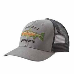 d6816d98ba591 Patagonia World Trout Fishstitch Trucker Hat - Moosejaw. Half-Moon  Outfitters