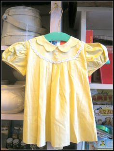 All Thats Vintage: Vintage Childrens Clothing - Galena, IL #VintageClothing #DIY