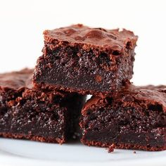 Coconut Oil Brownies Recipe