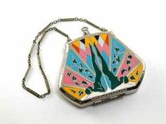 1920s J.M. Fisher Art Deco Compact  Sold For $900