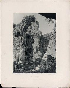 Málaga, Desfiladeros del Chorro. Fotografía — 1891