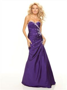 Sheath Sweetheart Neckline Taffeta With Beading Cerise Prom Dress PD11211 www.dresseshouse.co.uk $125.0000