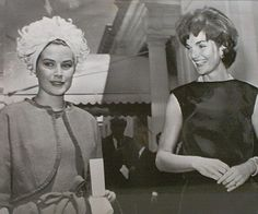 Princess Grace and Jacqueline Kennedy