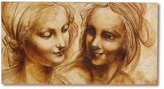 "Affreschi classici ""Madonna e S. Anna"""