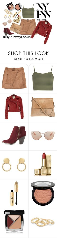 """#MYRUNWAYLOOK"" by shosho-mahmmod ❤ liked on Polyvore featuring WearAll, River Island, Charlotte Russe, Christian Dior, Guerlain, Bellini and Chanel"