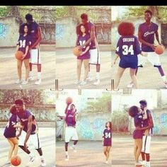 Cute basketball relationships