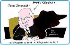 TEORI ZAVASCKI E AS HIPÓTESES CONSPIRATÓRIAS http://almirquites.blogspot.com/2017/01/teori-zavascki-e-as-hipoteses.html A morte de Teori Zavascki suscita a questão das conspirações assassinas.