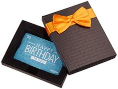 Amazon.com $50 Gift Card in a Black Gift Box (Birthday Icons Card Design) - http://www.darrenblogs.com/2016/12/amazon-com-50-gift-card-in-a-black-gift-box-birthday-icons-card-design/