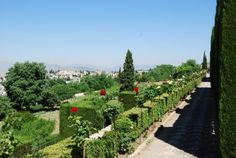 The Gardens of the Alhambra in Granada www.hiddenvalleyandalucia.com