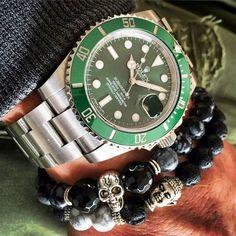 Rolex Submariner Hulk | #WRISTPORN by @mr.blofeld | www.wristporn.com (at www.WRISTPORN.com)