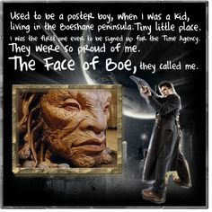 :)  Would love to see the path he took from Captain Jack to the OLD Face of Boe.  Seems like a sad twist of fate. I was so shocked when I found o it