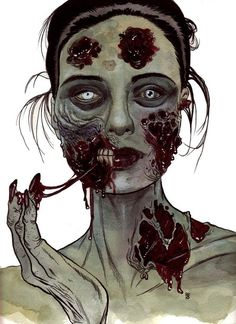 Image about art in Zombie Love by Violent ♡ Doll Zombie Kunst, Arte Zombie, Zombie Art, Zombie Style, Evil Dead, Arte Obscura, Gothic Art, Horror Art, Zombie Apocalypse