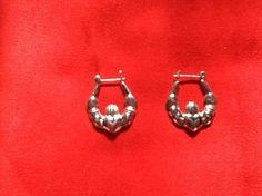 925 Sterling Silver Claddagh Earrings