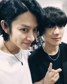 Heechul and Yesung